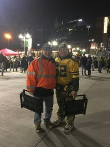 Bill Hopkins attended Green Bay Packers vs. Detroit Lions - NFL on Nov 6th 2017 via VetTix