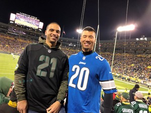 Corey attended Green Bay Packers vs. Detroit Lions - NFL on Nov 6th 2017 via VetTix