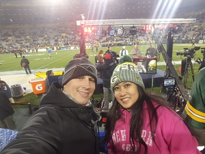 Shane attended Green Bay Packers vs. Detroit Lions - NFL on Nov 6th 2017 via VetTix