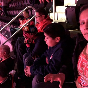 Christina attended New Jersey Devils vs. Arizona Coyotes - NHL on Oct 28th 2017 via VetTix