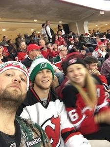 Jeremy attended New Jersey Devils vs. Arizona Coyotes - NHL on Oct 28th 2017 via VetTix