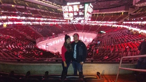Jose attended New Jersey Devils vs. Arizona Coyotes - NHL on Oct 28th 2017 via VetTix