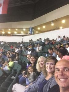 Terry attended Texas Legends vs. Austin Spurs - Veteran Appreciation Game - NBA G-league Basketball - Presented by the Austin Spurs on Nov 4th 2017 via VetTix