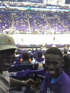Wesley attended Phoenix Suns vs. Portland Trail Blazers - NBA - Home Opener! on Oct 18th 2017 via VetTix