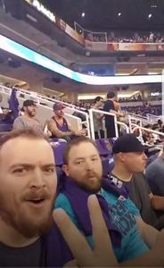 Michael attended Phoenix Suns vs. Portland Trail Blazers - NBA - Home Opener! on Oct 18th 2017 via VetTix