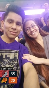 Axcel attended Phoenix Suns vs. Portland Trail Blazers - NBA - Home Opener! on Oct 18th 2017 via VetTix