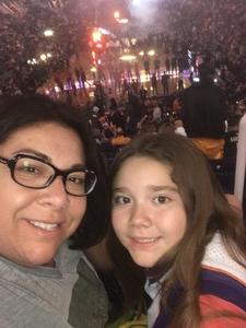 Elizabeth attended Phoenix Suns vs. Portland Trail Blazers - NBA - Home Opener! on Oct 18th 2017 via VetTix