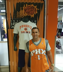 William attended Phoenix Suns vs. Portland Trail Blazers - NBA - Home Opener! on Oct 18th 2017 via VetTix