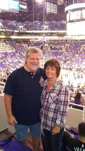 Richard attended Phoenix Suns vs. Portland Trail Blazers - NBA - Home Opener! on Oct 18th 2017 via VetTix