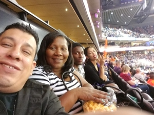 MARIO attended Phoenix Suns vs. Portland Trail Blazers - NBA - Home Opener! on Oct 18th 2017 via VetTix