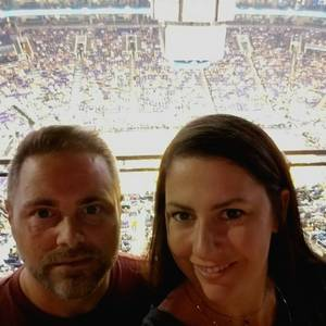 nathan attended Phoenix Suns vs. Portland Trail Blazers - NBA - Home Opener! on Oct 18th 2017 via VetTix
