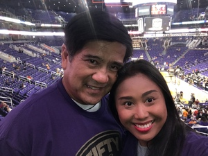 Stephen attended Phoenix Suns vs. Portland Trail Blazers - NBA - Home Opener! on Oct 18th 2017 via VetTix