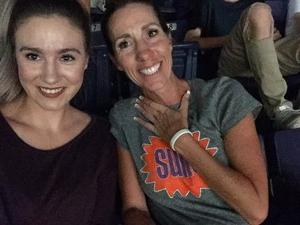 Shawna attended Phoenix Suns vs. Portland Trail Blazers - NBA - Home Opener! on Oct 18th 2017 via VetTix