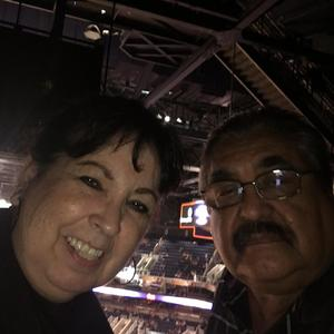 Gonzalo attended Phoenix Suns vs. Portland Trail Blazers - NBA - Home Opener! on Oct 18th 2017 via VetTix