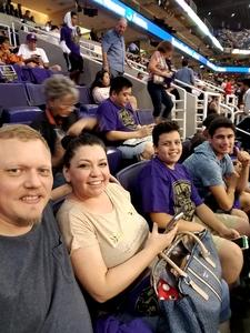Jared attended Phoenix Suns vs. Portland Trail Blazers - NBA - Home Opener! on Oct 18th 2017 via VetTix