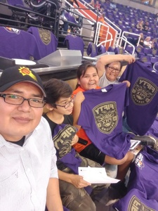 Garrick attended Phoenix Suns vs. Portland Trail Blazers - NBA - Home Opener! on Oct 18th 2017 via VetTix