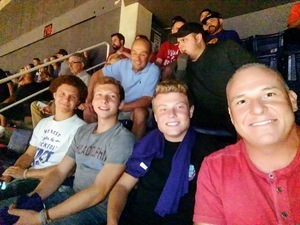 Mikel attended Phoenix Suns vs. Portland Trail Blazers - NBA - Home Opener! on Oct 18th 2017 via VetTix