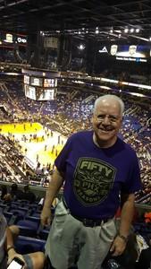 Ernest attended Phoenix Suns vs. Portland Trail Blazers - NBA - Home Opener! on Oct 18th 2017 via VetTix