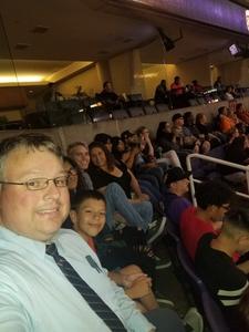 Paul attended Phoenix Suns vs. Portland Trail Blazers - NBA - Home Opener! on Oct 18th 2017 via VetTix