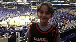 David attended Phoenix Suns vs. Portland Trail Blazers - NBA - Home Opener! on Oct 18th 2017 via VetTix