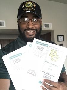 Boris attended Baylor Bears vs. Lamar - NCAA Womens Basketball - Military Appreciation on Nov 10th 2017 via VetTix