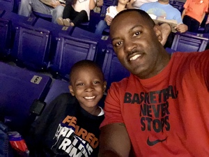 Torane attended Phoenix Suns vs. Brooklyn Nets - NBA on Nov 6th 2017 via VetTix