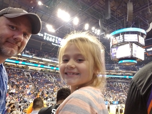 James attended Phoenix Suns vs. Brooklyn Nets - NBA on Nov 6th 2017 via VetTix