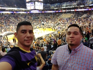 Jose attended Phoenix Suns vs. Brooklyn Nets - NBA on Nov 6th 2017 via VetTix