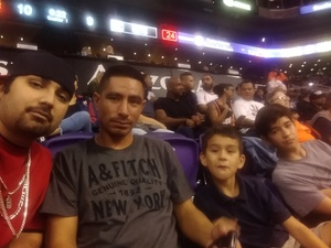 Richard attended Phoenix Suns vs. Brooklyn Nets - NBA on Nov 6th 2017 via VetTix