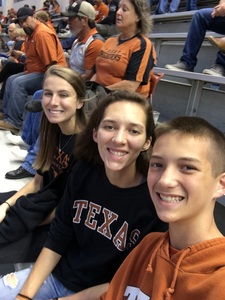 Bradney attended Texas Longhorns vs. Kansas - NCAA Football - Military Appreciation Night on Nov 11th 2017 via VetTix