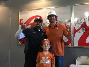 Mark attended Texas Longhorns vs. Kansas - NCAA Football - Military Appreciation Night on Nov 11th 2017 via VetTix