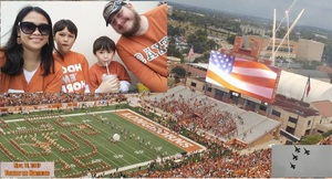 Nicholas attended Texas Longhorns vs. Kansas - NCAA Football - Military Appreciation Night on Nov 11th 2017 via VetTix