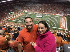 Bryan Smith attended Texas Longhorns vs. Kansas - NCAA Football - Military Appreciation Night on Nov 11th 2017 via VetTix