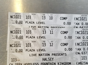 Jason attended Halsey - Hopeless Fountain Kingdom With Special Guest Party Next Door and Charli Xcx on Oct 21st 2017 via VetTix
