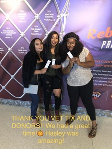 Kerrie attended Halsey - Hopeless Fountain Kingdom With Special Guest Party Next Door and Charli Xcx on Oct 31st 2017 via VetTix