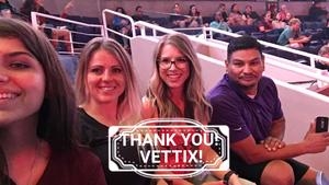 Eulalio attended Halsey - Hopeless Fountain Kingdom With Special Guest Party Next Door and Charli Xcx on Oct 31st 2017 via VetTix