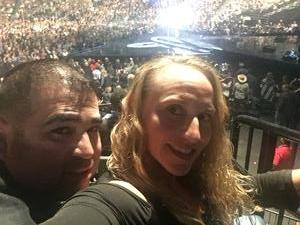 Michael attended Soul2Soul Tour With Faith Hill and Tim McGraw on Oct 27th 2017 via VetTix
