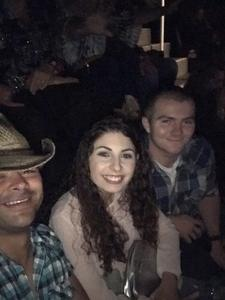 Don attended Soul2Soul Tour With Faith Hill and Tim McGraw on Oct 27th 2017 via VetTix