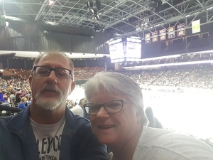 David attended Jacksonville Icemen vs. South Carolina Stingrays - ECHL on Oct 21st 2017 via VetTix