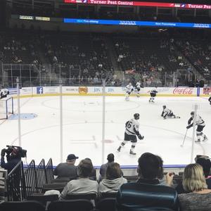 Frank attended Jacksonville Icemen vs. South Carolina Stingrays - ECHL on Oct 21st 2017 via VetTix