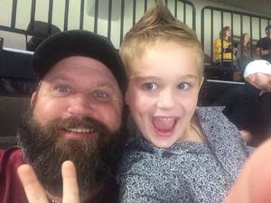 Richard attended Jacksonville Icemen vs. South Carolina Stingrays - ECHL on Oct 21st 2017 via VetTix