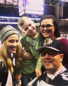 Tiffany attended Jacksonville Icemen vs. South Carolina Stingrays - ECHL on Oct 21st 2017 via VetTix