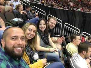 Tarin attended Jacksonville Icemen vs. South Carolina Stingrays - ECHL on Oct 21st 2017 via VetTix