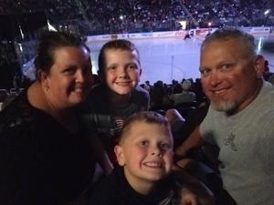 Anthony attended Jacksonville Icemen vs. South Carolina Stingrays - ECHL on Oct 21st 2017 via VetTix