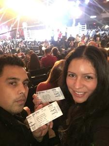 LESLIE attended Glory 48 New York - Presented by Glory Kickboxing - Live at Madison Square Garden on Dec 1st 2017 via VetTix
