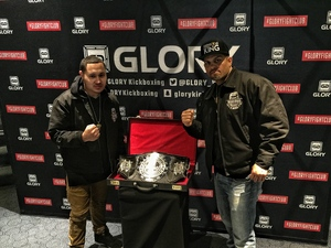 alfred attended Glory 48 New York - Presented by Glory Kickboxing - Live at Madison Square Garden on Dec 1st 2017 via VetTix