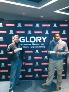 ricardo attended Glory 48 New York - Presented by Glory Kickboxing - Live at Madison Square Garden on Dec 1st 2017 via VetTix