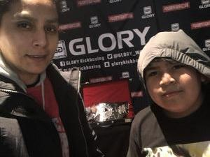 Christina attended Glory 48 New York - Presented by Glory Kickboxing - Live at Madison Square Garden on Dec 1st 2017 via VetTix