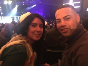 Raymon attended Glory 48 New York - Presented by Glory Kickboxing - Live at Madison Square Garden on Dec 1st 2017 via VetTix