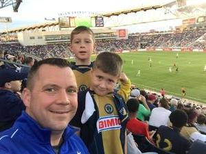 Brian attended Philadelphia Union vs. Orlando City SC - MLS on Oct 22nd 2017 via VetTix